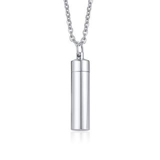 Wholesale Stainless Steel Minimalist Bar Urn Pendant
