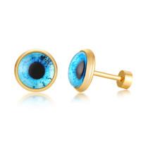 Wholesale Stainless Steel Womens Eyes Stud Earrings