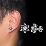 Wholesale Stainless Steel Mens Ear Stud Eearrings Punk