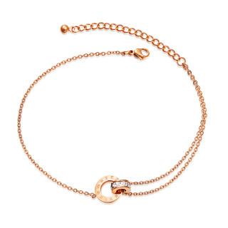 Wholesale Stainless Steel Stylish Ankle Bracelets