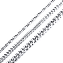 Wholesale Stainless Steel 3MM/5MM/7MM Cuban Necklace