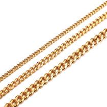 Wholesale Stainless Steel Men's Cuban Chain necklaces