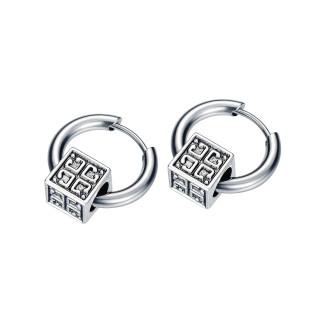 Wholesale Stainless Steel Cool Hoop Earrings For Men