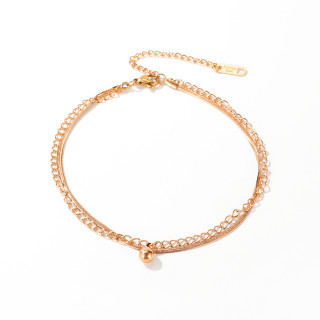 Wholesale Stainless Steel Fashion Anklets For Women