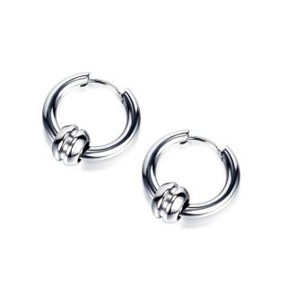Wholesale Stainless Steel Hoop Earrings For Men