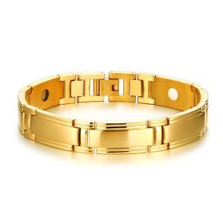 Wholeasle Stainless Steel Men's Health Energy Magnetic Bracelet