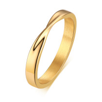 Wholesale Stainles Steel Mobius Wedding Ring for Men and Women