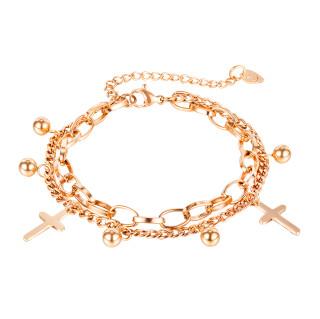 Wholesale Stainless Steel Fashion Women's Multi-strand Bracelet