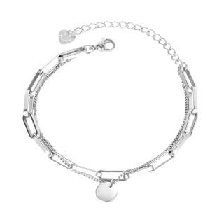 Wholesale Stainless Steel Multilayer Chain Bracelet