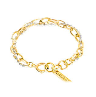 Wholesale Stainless Steel Double Personality Bracelet
