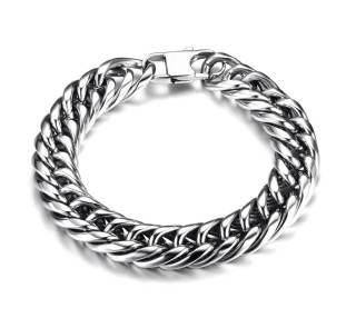 Wholesale Cuban Bracelet 11.5mm Stainless Steel