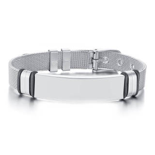Wholesale Engraved Bracelets Stainless Steel