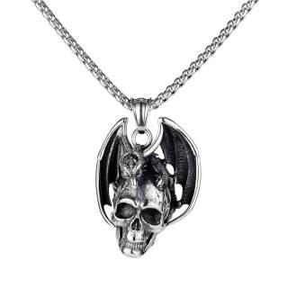 Wholesale Skull Pendant Stainless Steel
