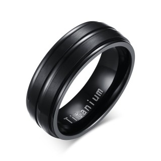 Wholesale Groove Titanium Rings from China