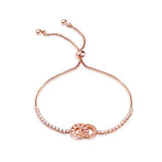 Wholesael Adjustable Interlocking Copper Bracelet