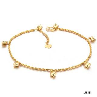 Wholeasle Copper Beach Anklets