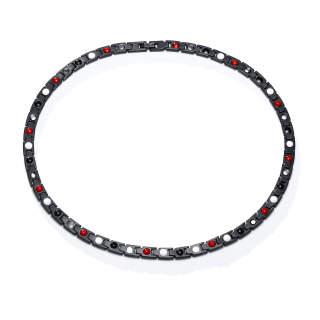 Wholesale Mens Gold & Black Titanium Necklace