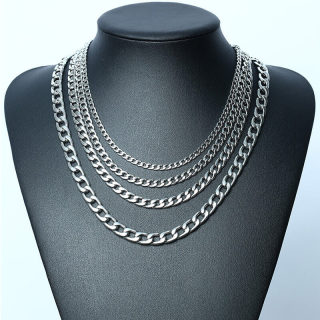 Wholesale Stainless Steel Cuban Link Necklace
