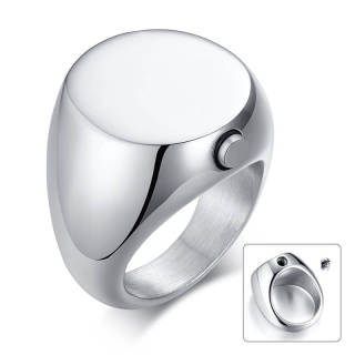 Wholesale Stainless Steel Cremation Urn Ring