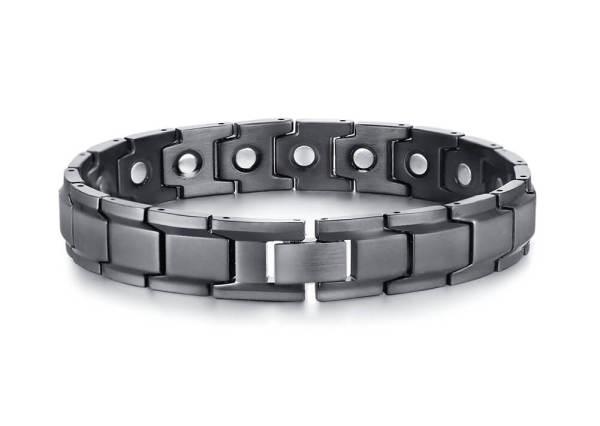 Wholesale Stainless Steel Black Bracelet