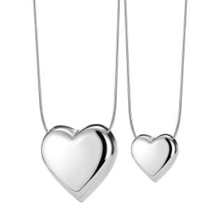Wholesale Stainless Steel Heart Pendant Necklace