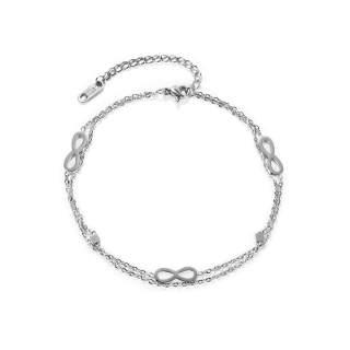 Wholesale Stainless Steel Infinity Bracelet