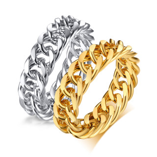 Wholesale Stainless Steel Chain Ring