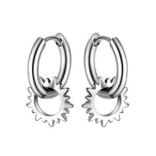 Wholesale Stinlass Steel Hoop Earrings