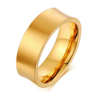 Wholesale Mens 7mm Stainless Steel Ring