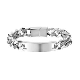 Wholesale Stainless Steel Engraving ID Bracelet