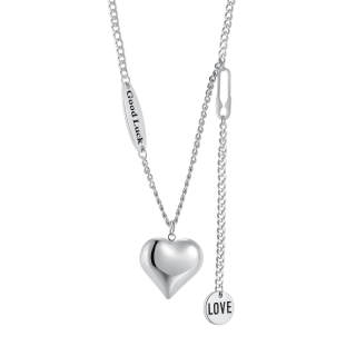 Wholesale Stainless Steel Heart Necklace