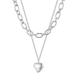 Wholesale Stainless Steel Women Necklace with Hearts