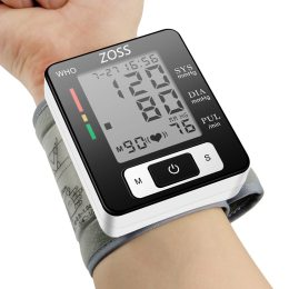 Sphygmomanometer Blood Presure Meter Monitor Heart Rate Pulse Portable Tonometer BP