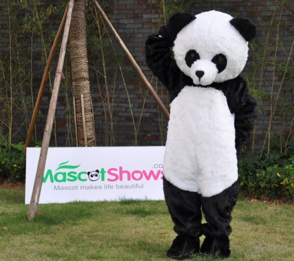 Supreme Panda Mascot P.. & Professional Panda Bear Mascot Fancy Dress Costume Adult Size EPE ...