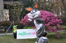 Easter Bugs Bunny Costume Cartoon Rabbit Mascot  Adult Mascots