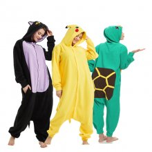 Soft Animal Kigurumi For Adult Onesie Pokemon Bodysuit Women Halloween Cosplay Carnival Men Jumpsuit Sleepwear Pajamas Parties