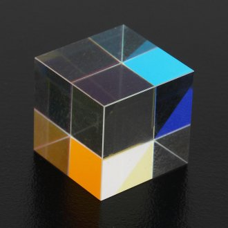 Laser Beam Combiner Cube Blue Prism Mirror for 405nm-450nm Blue Laser Diode