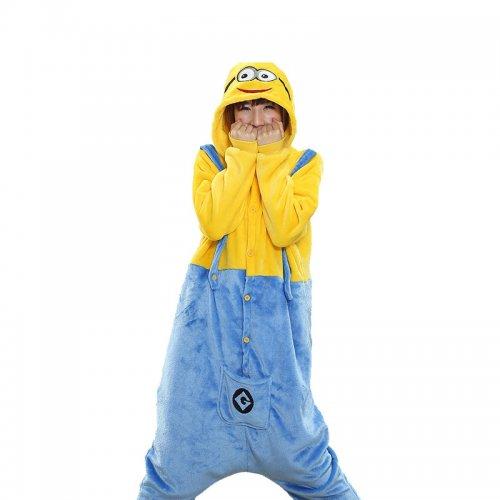 404e1b618f2b New Arrival Pikachu Minions Kigurumi Women Panda Pajamas Onesie For  Teenagers Adults Kangaroo Pijamas Donkey Onepiece Suit
