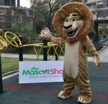 Alex Lion Au Madagascar Mascotte Adulte Costume Déguisement Lion Au Madagascar