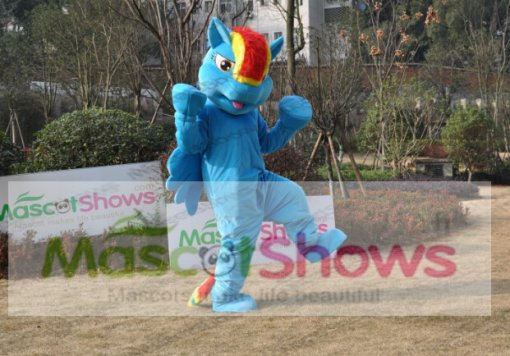 Déguisement Rainbow Dash Costume Mascotte My little Pony