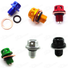 12mm Magnetic Oil Drain Bolt Plug For ATC70 CRF50 XR50 Pit Dirt Bikes ATV Quad Motorcycle Motocross