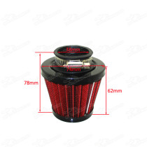 Pitbike Performance 38mm Straight Neck Air Filter Cleaner For Chinese GY6 50cc QMB139 Moped Scooter 110cc 125cc Dirt Pit Bike ATV Quad Go Kart