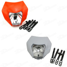 Universal Headlight Head Light Lamp KTM SX EXC XCF XCW SXF 250 300 350 450 Dirt Bike Motocross Enduro Supermoto Streetfighter