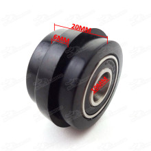 Chain Roller Pulley Tensioner 10mm ID Lip For Pit Trail Dirt Bike Mini Motocross Motorcycle Pitbike Motard Enduro