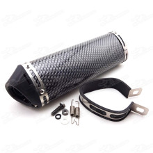 38mm Mute Silence Quiet Exhaust Muffler With Removable Silencer For Pit Dirt Bike ATV Quad Motocross Enduro Motorcycle 50cc-250cc