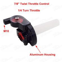 Twist Throttle Control For 7/8  22mm Handlebar YX Lifan 125cc 140cc 150cc Thumpstar SSR Pit Dirt Bike Pitbike