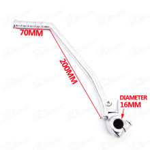 16mm Kick Start Starter Lever For Lifan Zongshen Loncin YX CB/CG 200 250cc Pit Dirt Monkey DAX Gorilla Gorm Bike Pitbike Motard