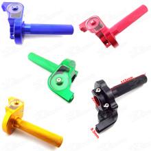 CNC Aluminum 1/4 Turn Twist Throttle For Honda CRF50 XR50 CRF 70 KLX 110 Pit Dirt Bike Mini Cross Pitbike Motard