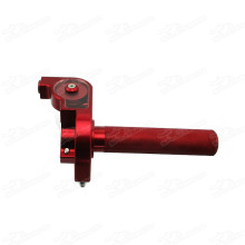 CNC Throttle Twist Tube With Speed Limiter Bolt With Governer Restrictor For Kids Pit Dirt Bike Pitbike Motard Motorcycle Mini Motocross