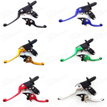 Pitbike Aluminium Brake Clutch Levers Break Level For Stomp Orion Thumpstar SDG Atomic DHZ SSR CRF XR KLX Pit Dirt Trail Bikes Motard CRF 50 70 Pit Pro